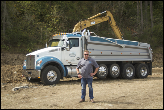 Chris Thornhill of PGH Excavating