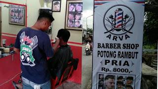 ARVA Barbershop - Tempat Cukur Kekinian dengan harga terjangkau