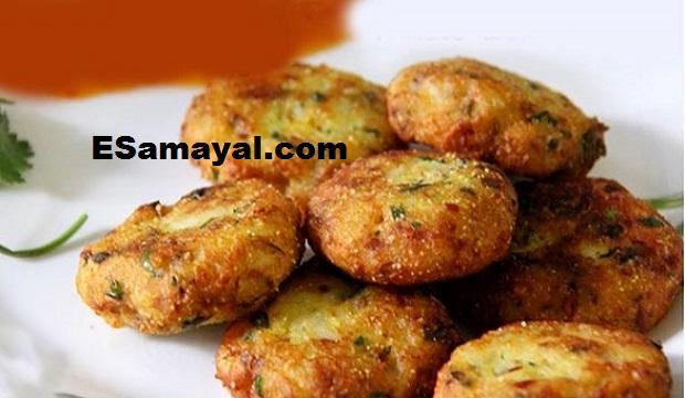 பிரெட் உருளைக்கிழங்கு வடை செய்வது | Breaded Potatoes Vadai Recipe !