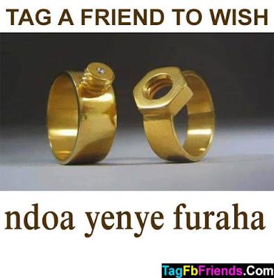 Happy marriage in Swahili language