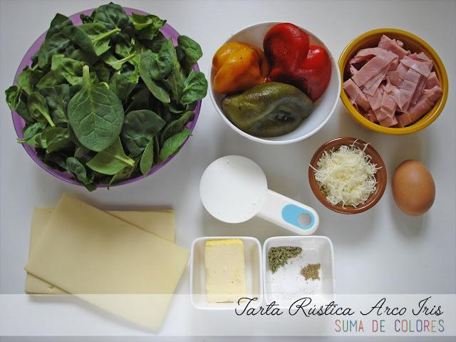 Tarta-Rustica-Arco-Iris-Ingredientes-relleno