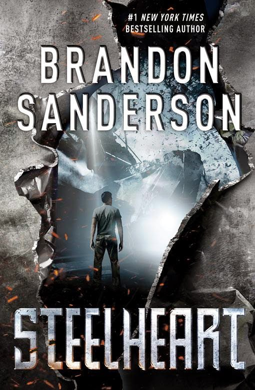 Steelheart by Brandon Sanderson cover