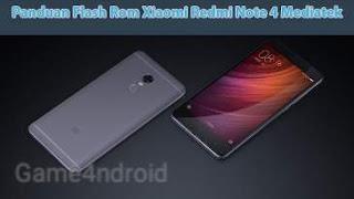 Flash Redmi Note 4 / 4x Mediatek [Nikel] dengan SP Flashtool