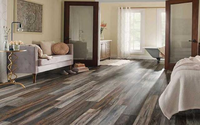 lantai kayu laminated cocok untuk iklim tropis Indonesia