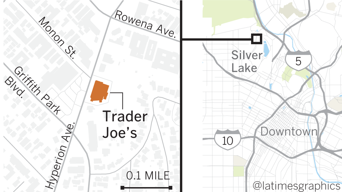 the incident occurred at the silver lake trader joe s