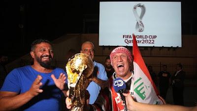 إطلاق شعار كأس العالم لكرة القدم 2022