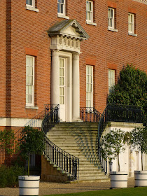 The back door of the house, Osterley