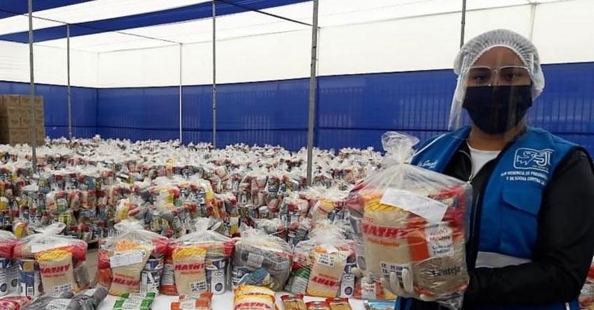 QALI WARMA: Programa social entrega alimentos para más de 7 mil personas de San Juan de Lurigancho - www.qaliwarma.gob.pe