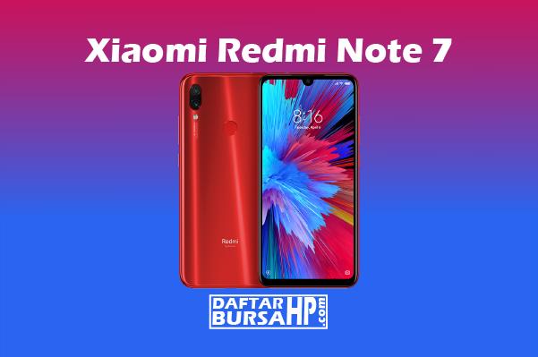 Xiaomi Redmi Note 7 Spesifikasi dan Harga