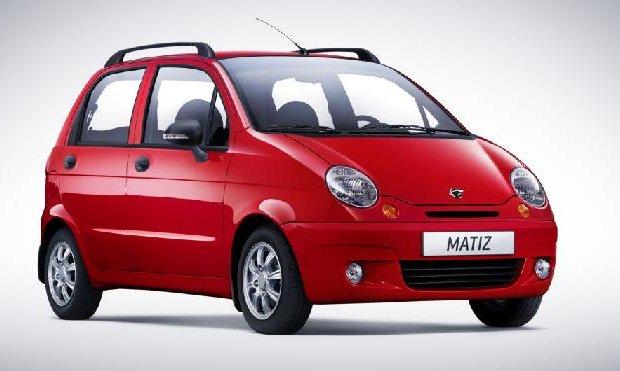 Daewoo Matiz. Màu đỏ. Mới 80%