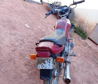 Moto roubada em Barra da Estiva