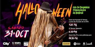 Halloween 2020 con la Orquesta Filarmonica de Bogotá