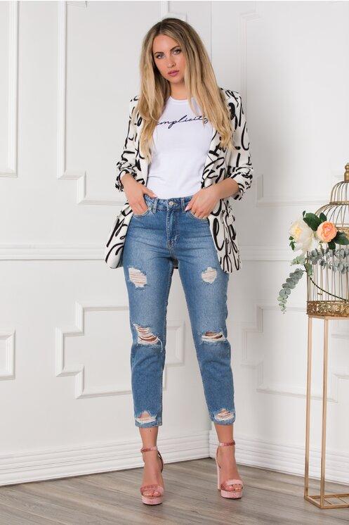 Blugi dama de firma si ieftini la moda vara 2020 moderni modele noi