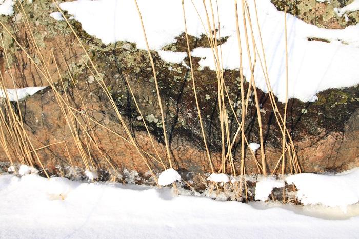 auringon lämpö sulava lumi