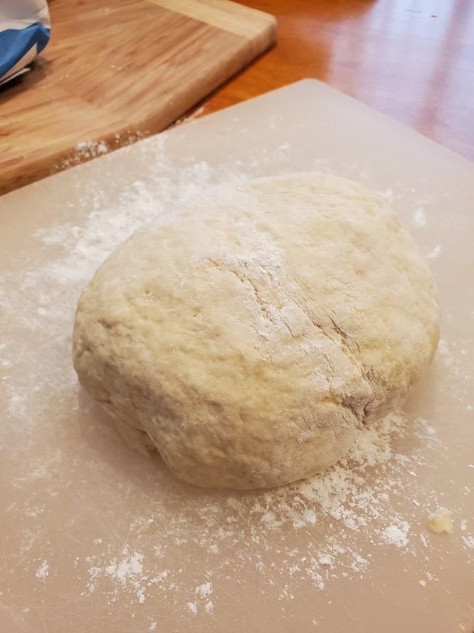 bow tie pasta dough