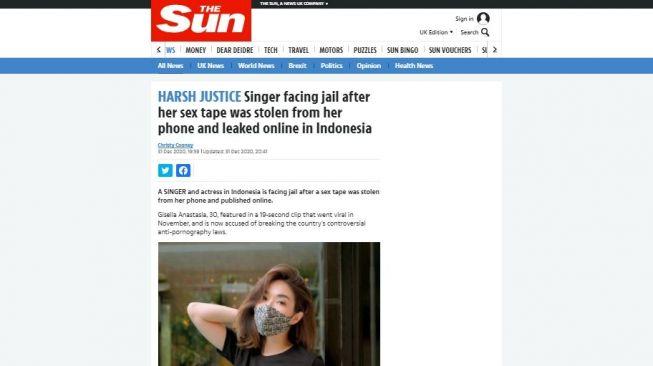 Kasus Gisel Disorot Media Inggris, Sebut Hukum di Indonesia Terlalu Keras