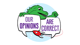 Logo for Our Opinions are Correct