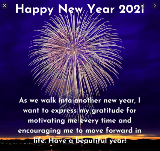Happy New Year 2021 png download