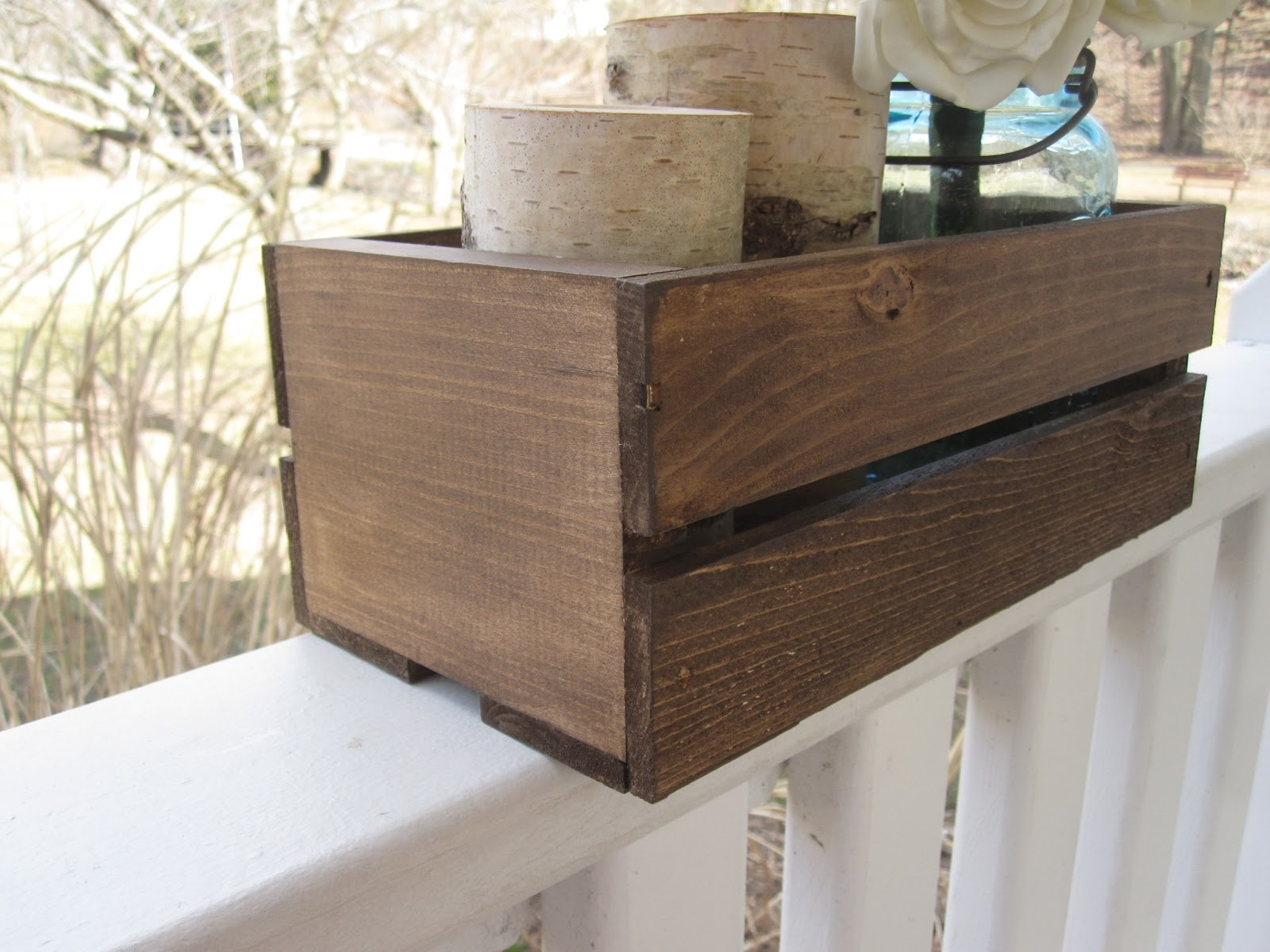 The Botanical Box Diy Wood Planter Box