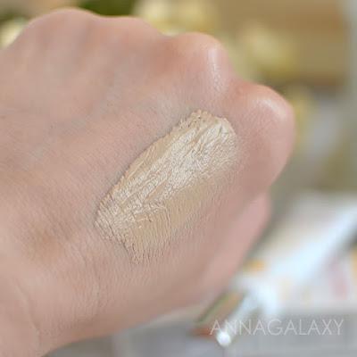 Свотчи Erborian BB Creme Total Sheer Makeup Care Face Cream 5-in-1 в оттенке Nude