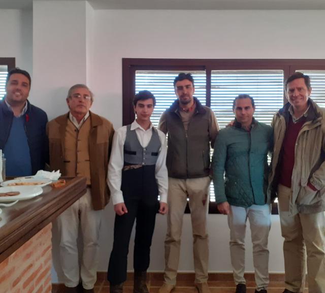Filipe Martinho na Escola de Toureio de Badajoz