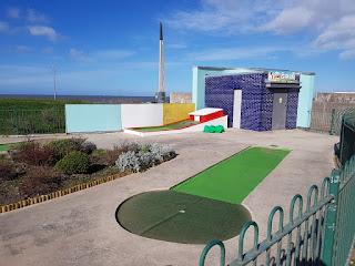 Drift Park Crazy Golf in Rhyl, Wales