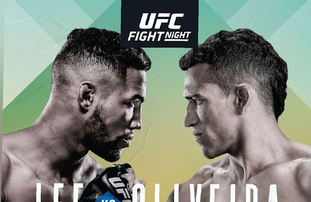 Kevin Lee Vs Charles Oliveira