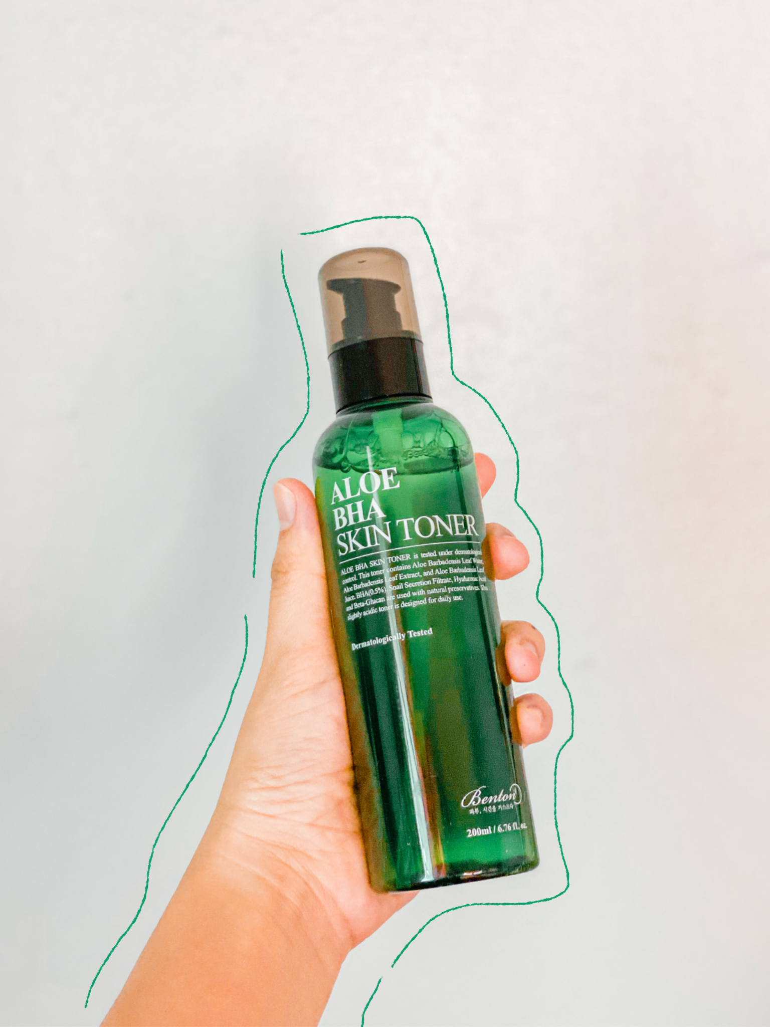 Style Korean Try Me Review Me: First Impressions on Influencers' Favorites from BENTON - BENTON ALOE BHA SKIN TONER