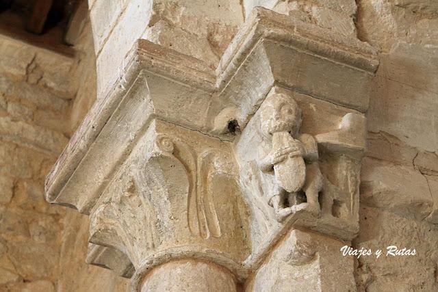 Capiteles de la Iglesia de Santa María de Wamba