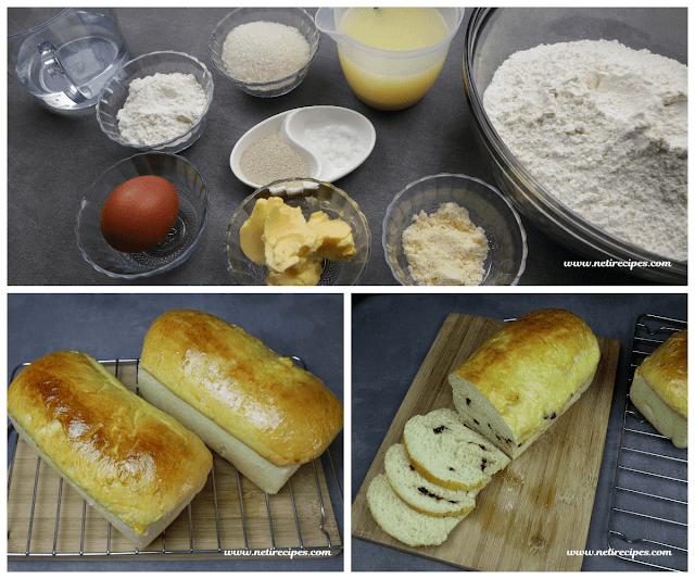 Resep Roti Tawar Lembut