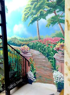 Jasa lukis dinding lukis mural lukis pemandangan lukis kamar anak