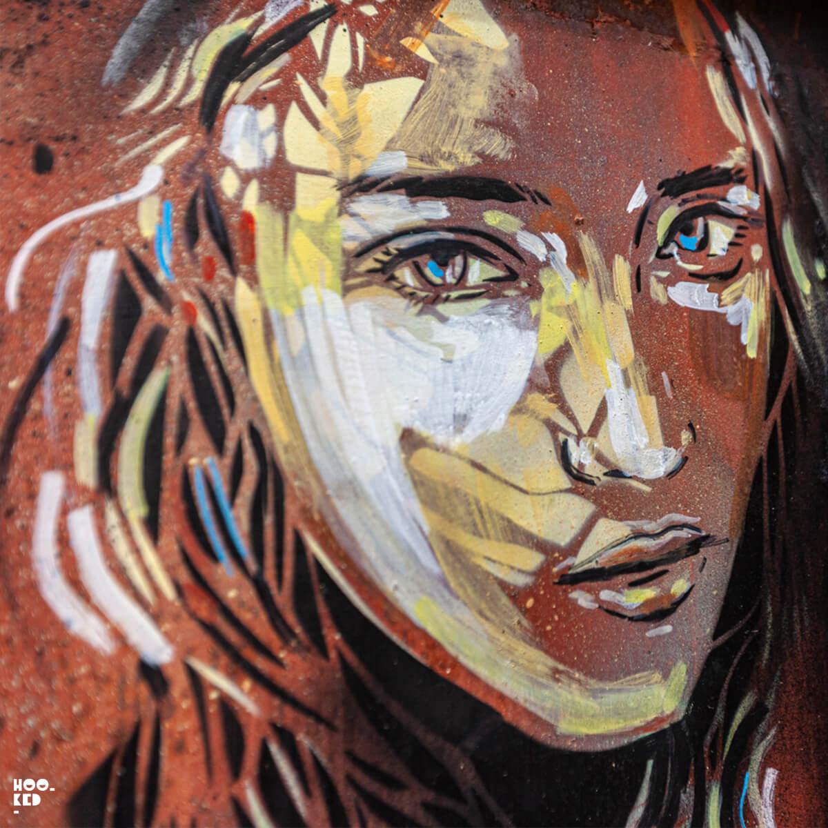Beautiful Italian Street Art By Alice Pasquini In Civitacampomarano