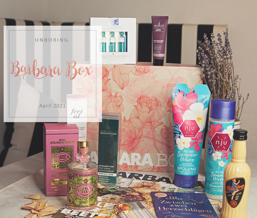 Barbara Box - April 2021 - unboxing