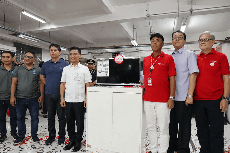 Sharp produced 4 million TVs in the Philippines