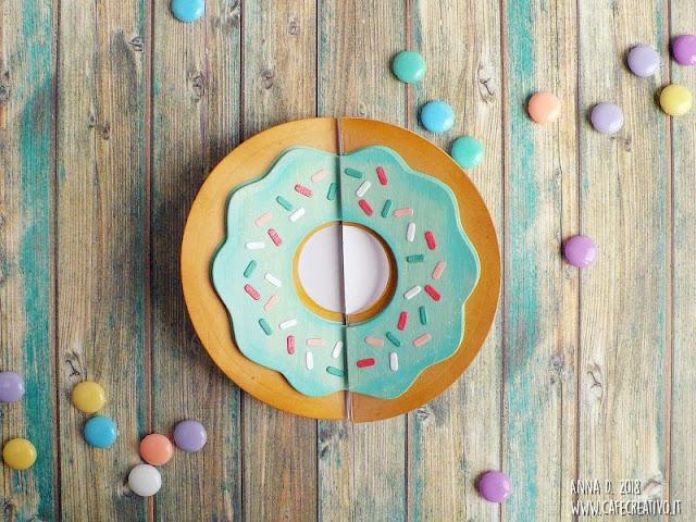 Donut Fold-a-Long Card