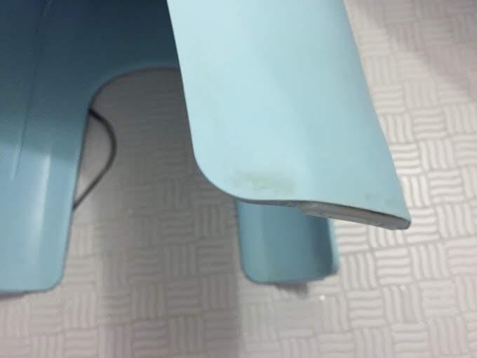 お風呂用の椅子 クリーナー使用前