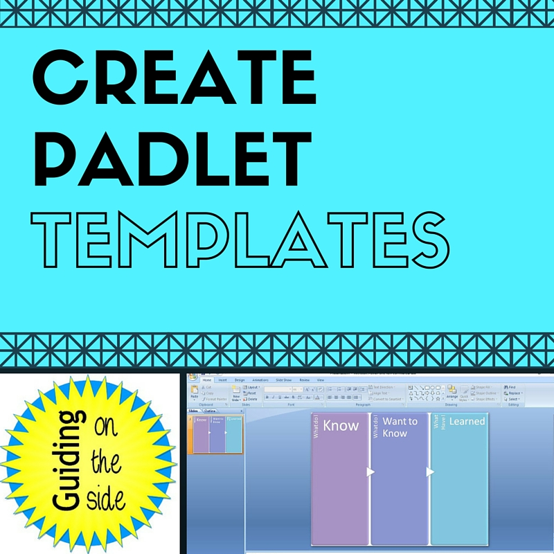 Creating Templates for Padlet