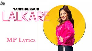 Lalkare Song Lyrics Tanishq Kaur