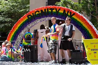 Baptism of homosexuals