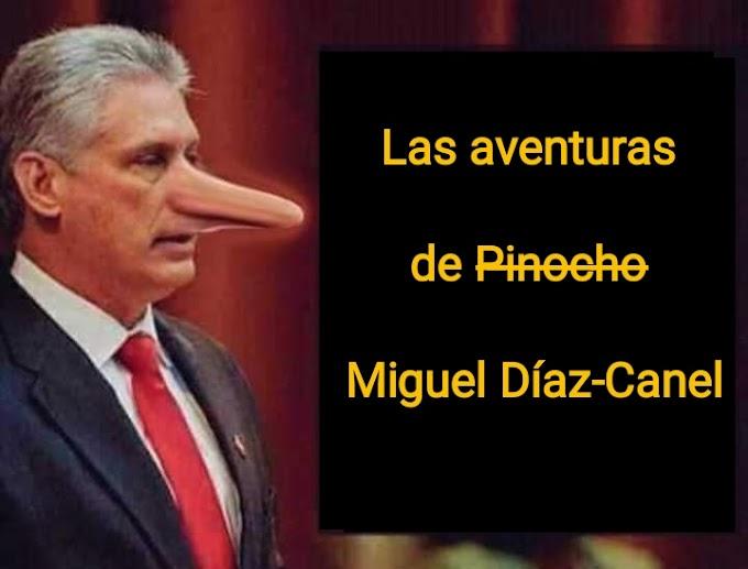 Cubanos recogen firmas para que Pinocho pase a llamarse Miguel Díaz-Canel