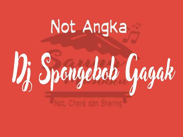 Not lagu Spongebob gagak