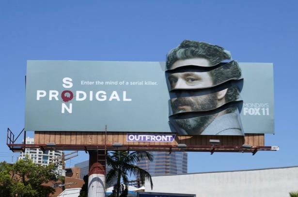 Prodigal Son series premiere 3D billboard