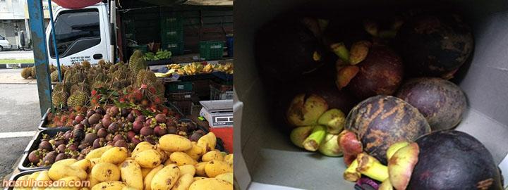 Durian Panas & Perlu Diambil Dengan Manggis Yang Sejuk