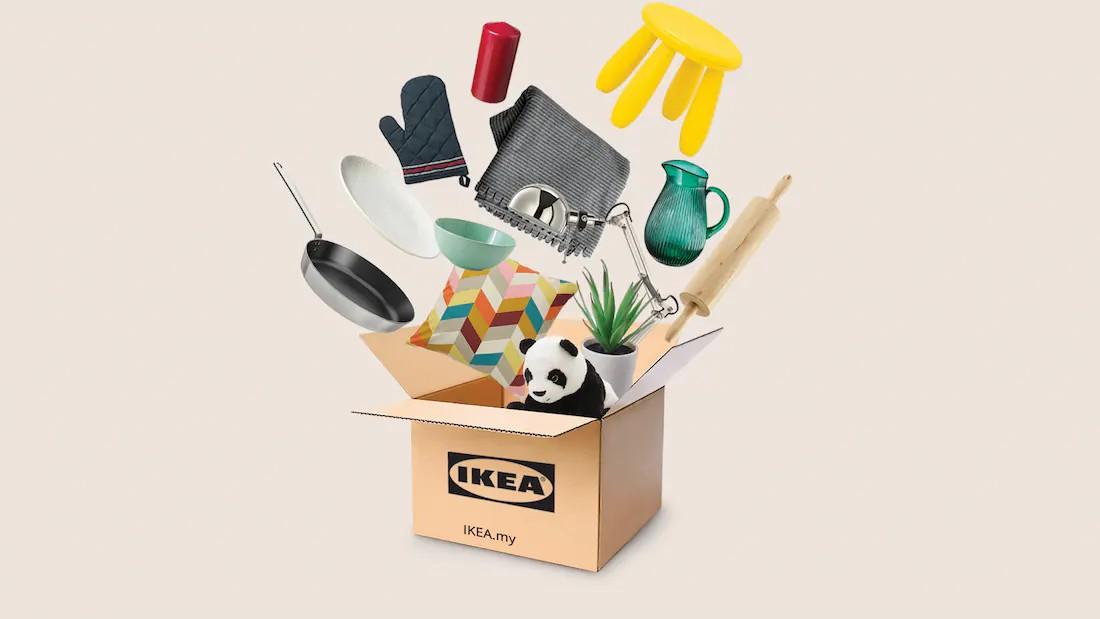IKEA Tawarkan Penghantaran Terus Ke Rumah Dengan Harga RM10 Bagi Seluruh Semenanjung Malaysia