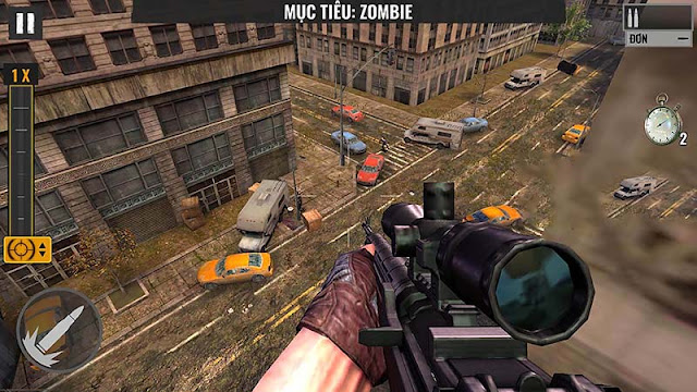 Sniper Zombie 1.16 mod money premium
