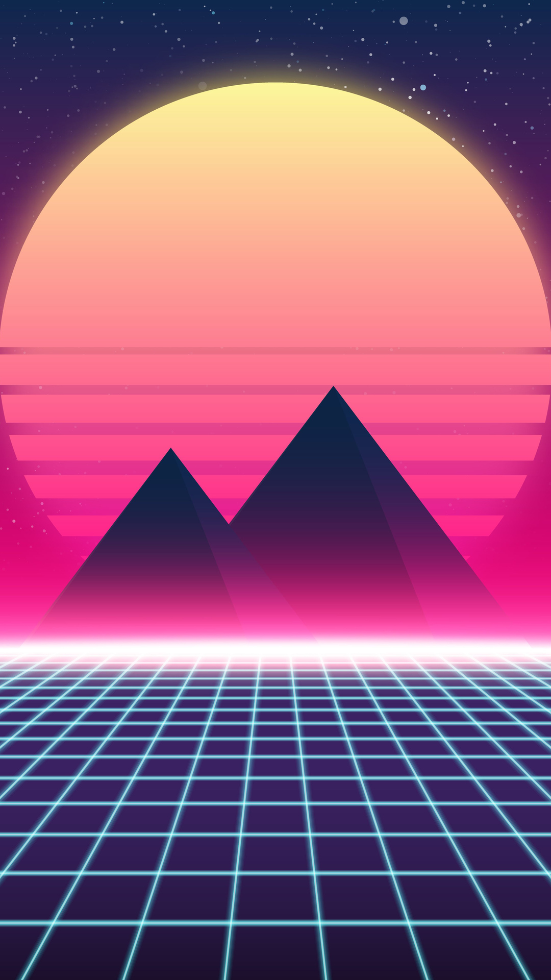 Retro Wave Wallpaper Phone Ranktechnology
