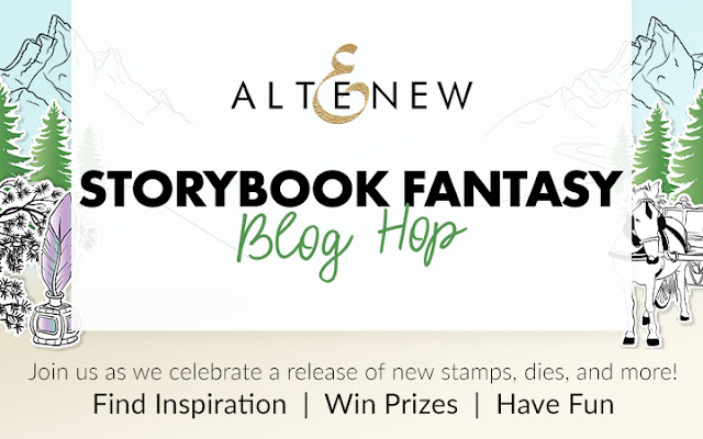 Altenew Storybook Fantasy Collection Release Blog Hop + Giveaway