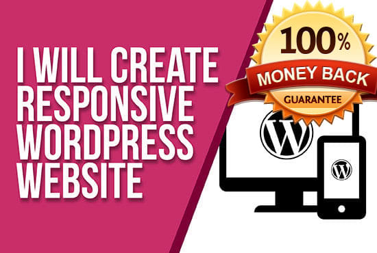 I will build wordpress website seo and mobile friendly