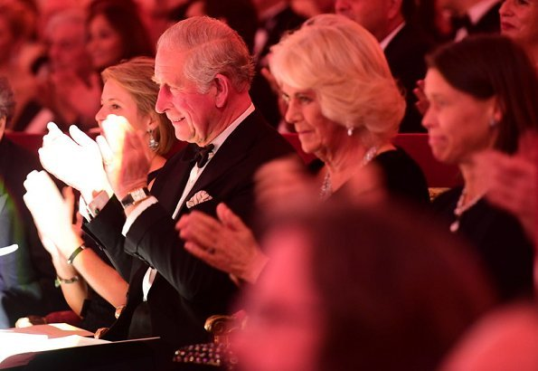 The Prince of Wales and The Duchess of Cornwall attended a Gala at Buckingham Palace in celebration of The Prince's 70th Birthday