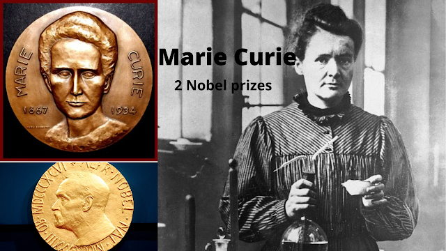 ماري كيوري من مربية أطفال إلي 2 جائزة نوبل